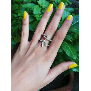 American Diamond Ring For Women