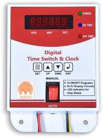 Digital Time Switch Clock School Bell Timer