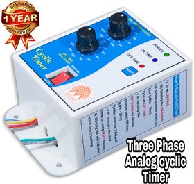 Three Phase Analog Cyclic Timer