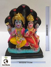 Naag Vishnu Idol, Lord Visnu Idol, 100 Original And Very Rare Collection ByMake In India - Pick Use - Soilmade