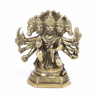 Hanuman Brass Idol, 100 Original And Very Rare Collection ByMake In India - Pick Use - Soilmade