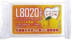 Doshisha L8020 Anti Bacteria Dental Care Tablets, Lemon Flavor, Made in Japan, 9gms (About 40 Tablets)