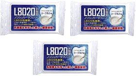 Doshisha L8020 Anti Bacteria Dental Care Tablets, Yogurt Flavor, Made in Japan, Pack of 3, 9gms Each