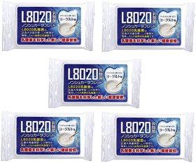 Doshisha L8020 Anti Bacteria Dental Care Tablets, Yogurt Flavor, Made in Japan, Pack of 5, 9gms Each