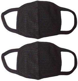 Black Bike Face Mask For Men Women (Size Free, Balaclava)