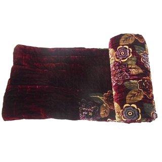 Phoenix International Double Bed Jaipuri Razai Velvet Double Bed razai Soft and Light Weight  Printed Winter Quilt/ Comforter/Razai/Jaipuri Razai/Blanket/Dohar/Jaipuri Prints
