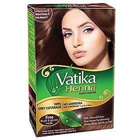 Vatika Henna Brown Colour Rich Colour In 30 Min 60G