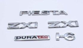 Customize Fiesta Zxi Duratec I.6 Emblem Kit
