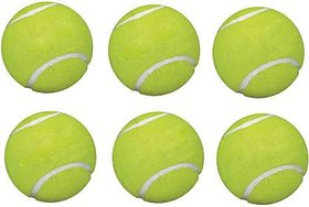 A1VK Green Tennis Ball 6pec