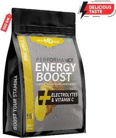 HealthOxide Energy Boost Extra Power Energy Drink  (500 g, Pineapple Flavored)