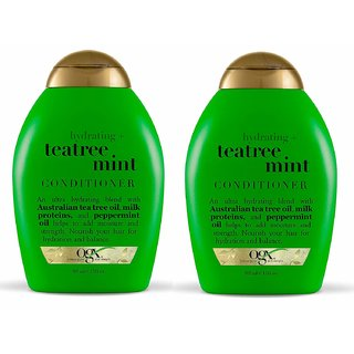 Hydrating + Tea Tree Mint Conditioner, 13 Ounce