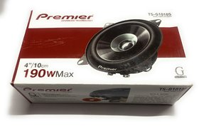 Premier Tsg1015S 4Inch Coaxial Car Dashboard Speaker
