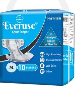 Everuse Adult Diaper - M (10 Pieces)