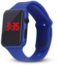 Farp Digital Led Watch Rubber Type Dark Blue Colour Boys Watch Kids Watch