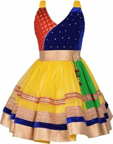 Clobay Anarkali Frock For Girls