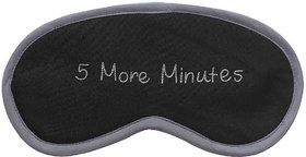5 More Minutes (Grey) Eye Mask
