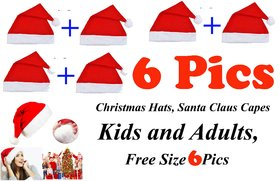 Santa Claus Capes For Kids And Adults