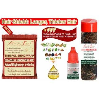 Powerful Hair Growth Jadibuti Mix For Hairfall, Hair Grow, Alopecia, Thickening, Volume, Scalp Damage Reapir Treatment
