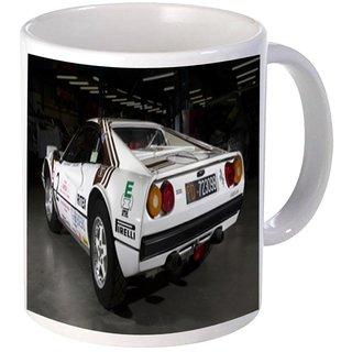 Net Data Express Super Car Coffee Mug