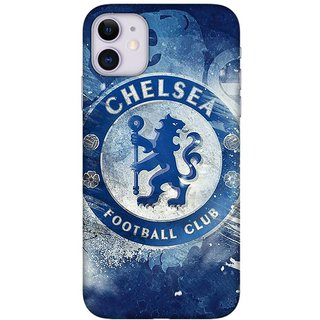 Onhigh Designer Printed Hard Back Cover Case For Iphone 11, Football Club