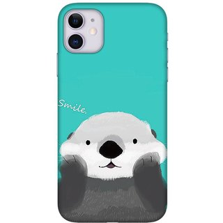 Onhigh Designer Printed Hard Back Cover Case For Iphone 11, Please Smile