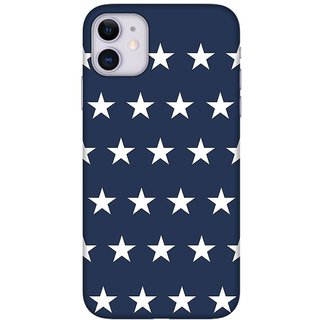 Onhigh Designer Printed Hard Back Cover Case For Iphone 11, Lines Of Stars