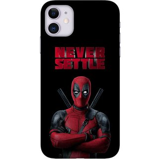 Onhigh Designer Printed Hard Back Cover Case For Iphone 11, Never Settle