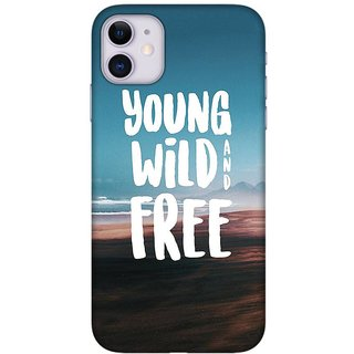 Onhigh Designer Printed Hard Back Cover Case For Iphone 11, Young Wild