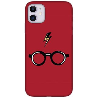 Onhigh Designer Printed Hard Back Cover Case For Iphone 11, Red Music