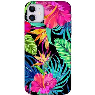 Onhigh Designer Printed Hard Back Cover Case For Iphone 11, Flowers Beauty