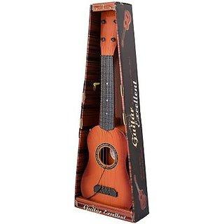 Shribossji Wooden Guitar 4 String Learning Toy For Kids