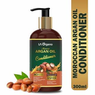 La Organo Argan Oil Conditioner For Softer Silkier Shinier Hair (300 Ml)