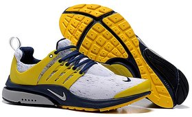 Nike Yellow Air Presto Sports Shoes For Men