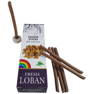 Stylewell Rare Collection(Pack Of 1) Premium Fresh Loban Scented Dry Dhoopbatti Incense Sticks Box(10 Sticks)
