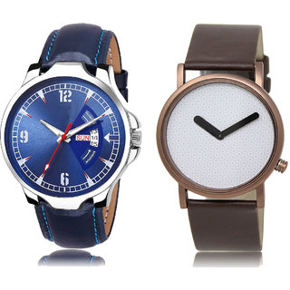 Adk Jg-03-Lk-36 Blue & White Dial Day & Date Functioning Watches For Men