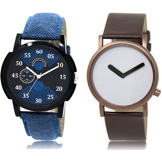 Adk Lk-02-36 Blue & White Dial Special Watches For Men