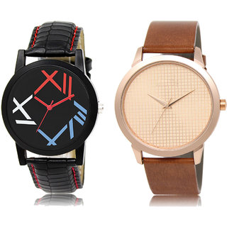 Adk Lk-12-34 Multicolor & Brown Dial Special Watches For Men