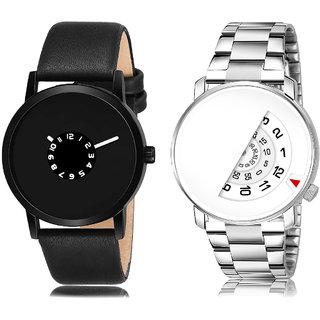 Adk Lk-25-106 Black & White Dial New Watches For Men
