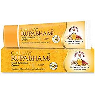 Galway Rupabham Haldi Chandan Cream, 50Gm