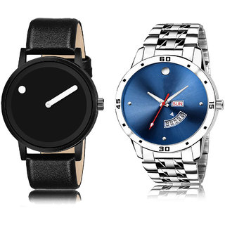Adk Lk-105-Mt-04 Blue & Black Color Dial For Men