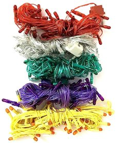 Diwali Light Colored Led Rice Light (Ladi) Decoration Lighting, Multicolor (Pack Of 5)