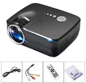 LATEST FULL HD 1080p Projector Vivibright LED for Home cinema Mini Portable Projector full HD 3D HDMI VGA USB TV SD LED Projector 800x600 Pixels (SVGA)