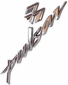 Bajaj Pulsar Bike Logo Model Emblem 3D Chrome Sticker(1 Pcs)