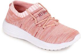 Refoam Women Pink Mesh Sports Shoes