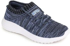 Refoam Women Navy-Sky Mesh Sports Shoes