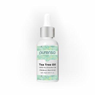 Purenso 100 Pure Essential Oil - Tea Tree (25G)