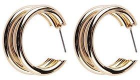 Misstyle Vintage Metal Irregular Golden Dangle Earrings