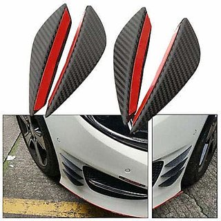 4Pcs Air Knife Carbon Auto Front Bumper Protector Lip Splitter Styling For - Hyundai Car's
