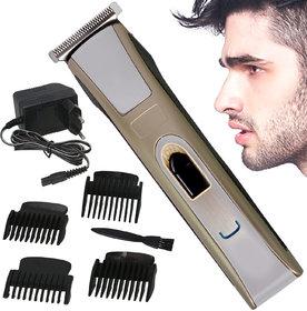 Men Cordless Electric Rechargeable Beard Mustache Hair Clipper Trimmer - 259 A