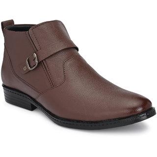 Bucik Men's Brown Leather Casual Boot